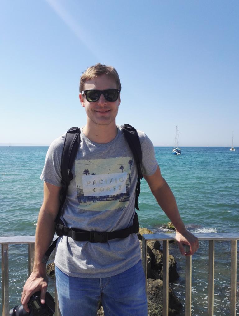 Ich in Palma de Mallorca (Juni 2017)