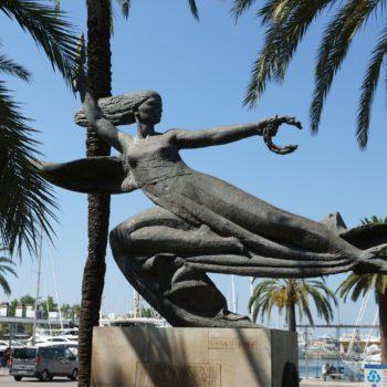 Statue in Palma de Mallorca